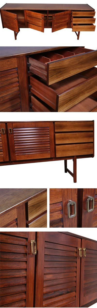 Rosewood sideboard. Rare version of this McIntosh classic
